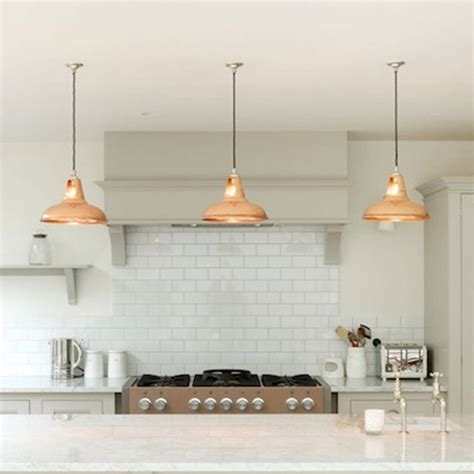 copper kitchen light fixtures coolicon industrial copper pendant light by artifact