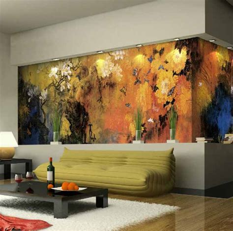 living room wall murals 10 living room designs with wall murals decoholic