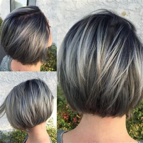 pictures of grey hairstyles with pink highlights best 20 gray hair highlights ideas on pinterest