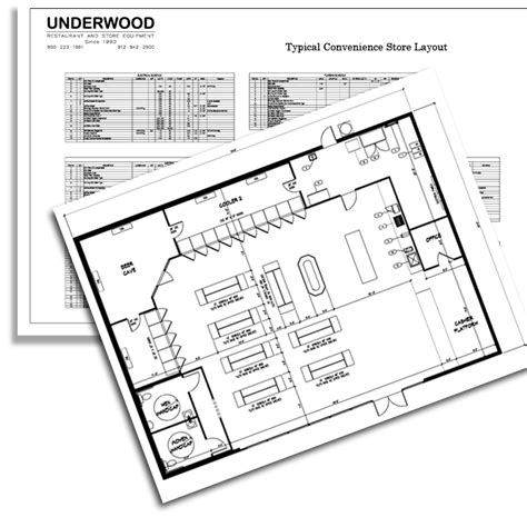 Free Kitchen Design Layout call underwood restaurant and store equipment toll free at