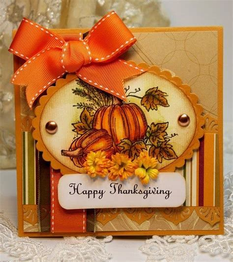 thanksgiving cards to make at home 25 unique handmade thanksgiving cards ideas on