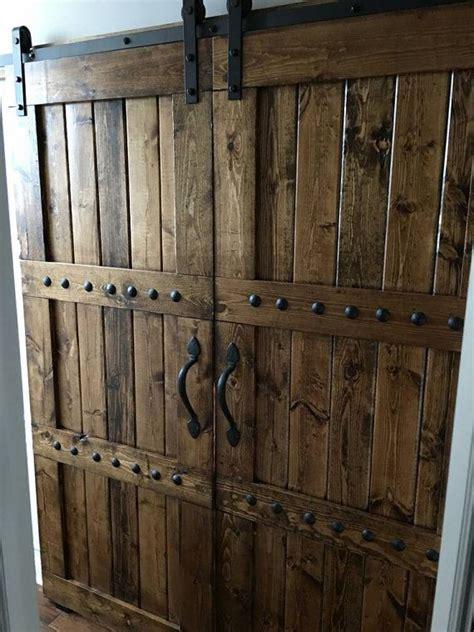 interior barn style doors best 25 wooden doors ideas on wooden door