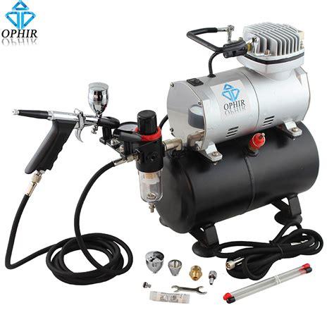 spray paint gun compressor ophir airbrush kit 0 3mm 0 5mm 0 8mm touch up auto paint