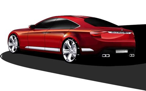 Citroen C7 citroen c7 rendering news gallery top speed