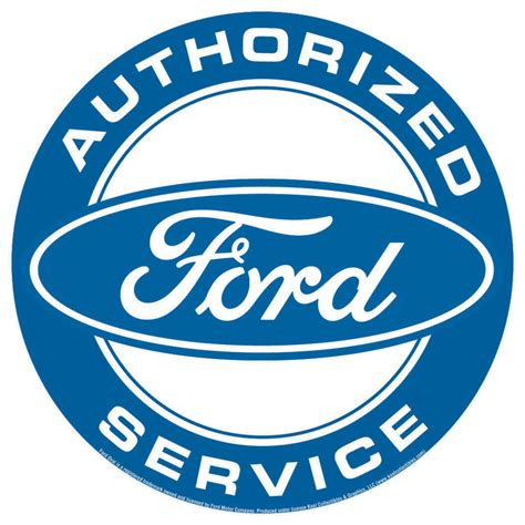 Ford Sign by Ford Service Tin Signs Metal Signs Sold At Europosters