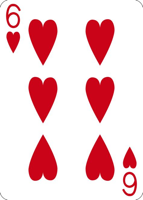 6 Of Hearts By Farvei On Deviantart