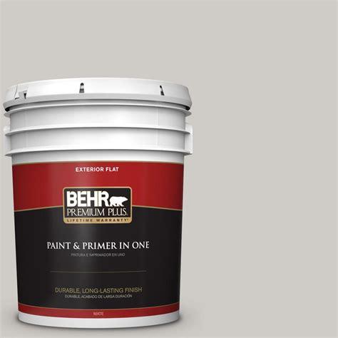 behr paint color grey behr premium plus 5 gal ppu26 10 chic gray flat exterior