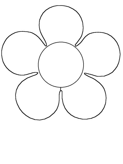 coloring book pictures of flowers flower simple shapes coloring pages coloring book