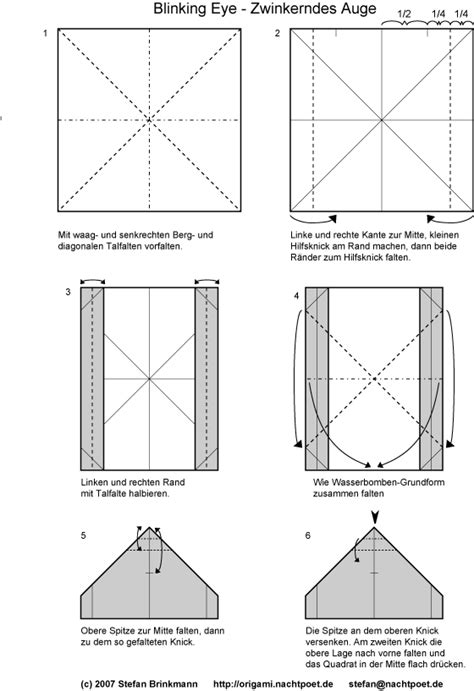 origami blinking eye index of origami origami diagramme