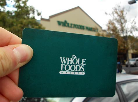 who makes gift cards whole foods markets makes their gift cards more eco