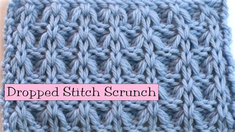 what is st st in knitting fancy stitch combo dropped stitch scrunch