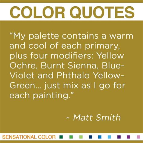 paint color quotes quotes about color by matt smith sensational color