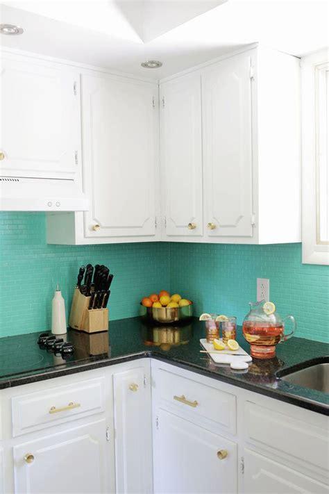paint kitchen backsplash 6 ways to redo a backsplash right the one