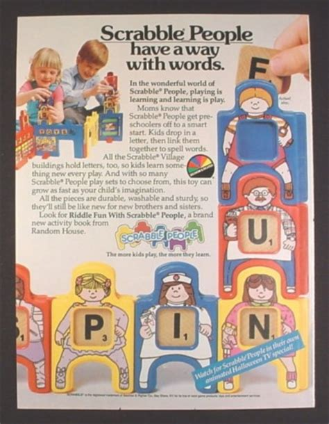 ad scrabble magazine ad for scrabble scrabble toys