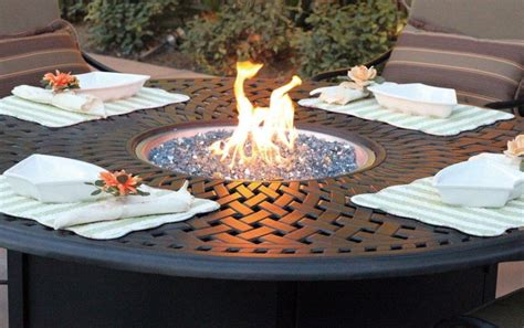 propane outdoor firepit propane pit accessories pit design ideas