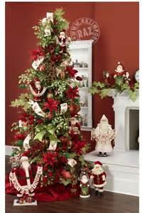 santa tree decorations raz 2013 merry mistletoe trees and