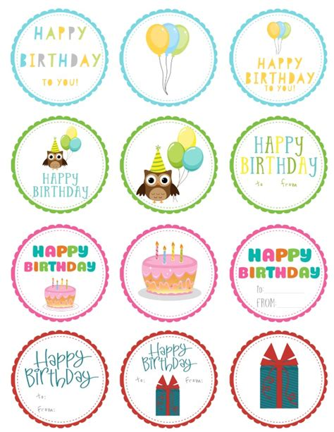 gift labels print free free printable birthday gift tags