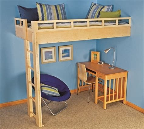 how to build a bunk bed with desk build a loft bed