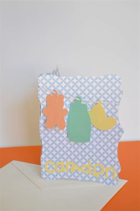 new baby cards to make handmade cards new baby our thrifty ideas