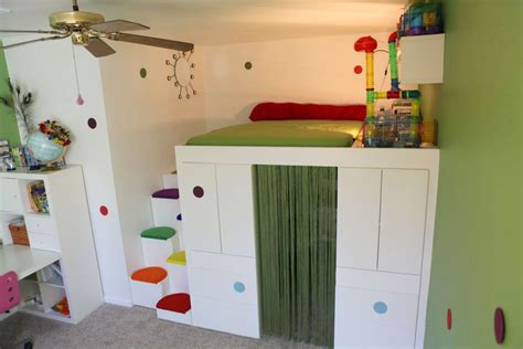 ikea hack bed the akurum it s brilliant for a loft bed with den