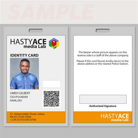 where can i make an id card id card sle 54artistry