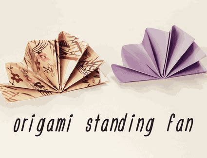 origami fan origami beginner projects