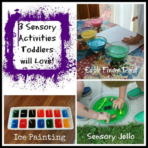 projects toddlers 3 sensory activities toddlers will teaching