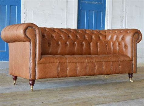 leather chesterfield sofas leather chesterfield sofa light leather