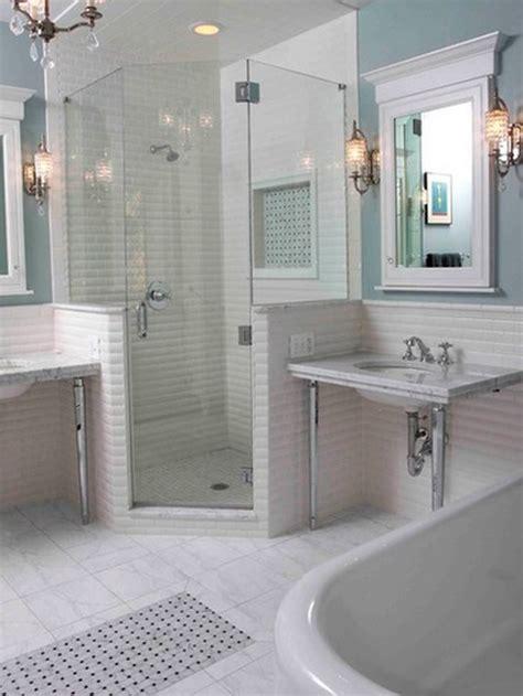 bathroom corner showers 10 walk in shower design ideas that can put your bathroom