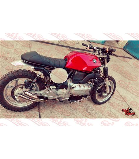 Modified Bmw K100 by Thunder Slash Pipe For Bmw K75 Right Side Cafe 4 Racer