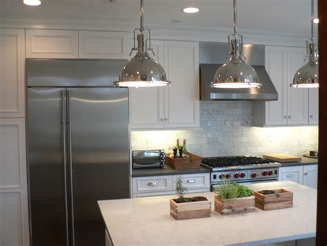 industrial kitchen lights what is the make and model of the industrial pendant