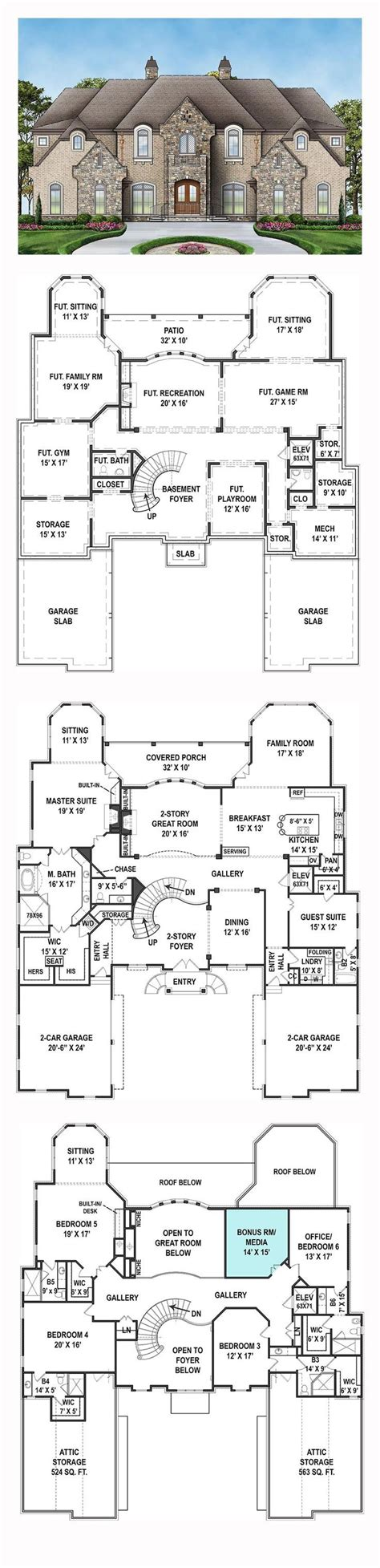 luxury house floor plans best 25 new house plans ideas on house plans