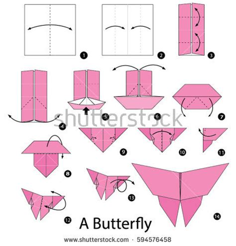 step by step origami butterfly origami butterfly step by step www pixshark