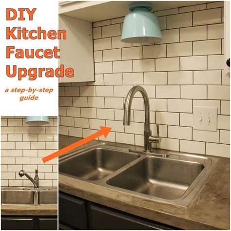 how do you replace a kitchen faucet how to upgrade and install your kitchen faucet