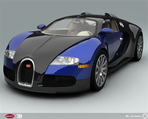 Bugati Car by Bugatti Veyron Blue Cool Car Wallpapers