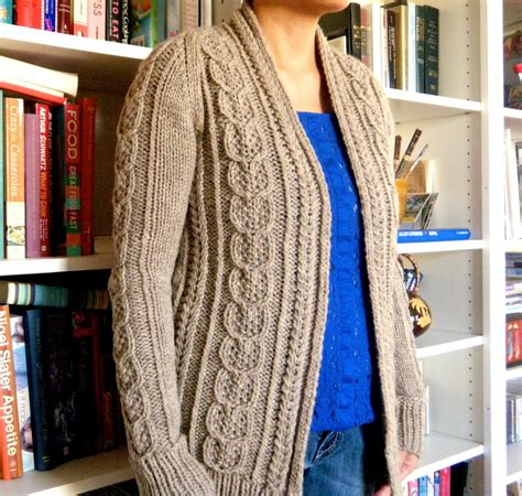knit a sweater sweater knitting loom pattern bronze cardigan