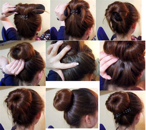 how to use in hair donut bun with hair newhairstylesformen2014
