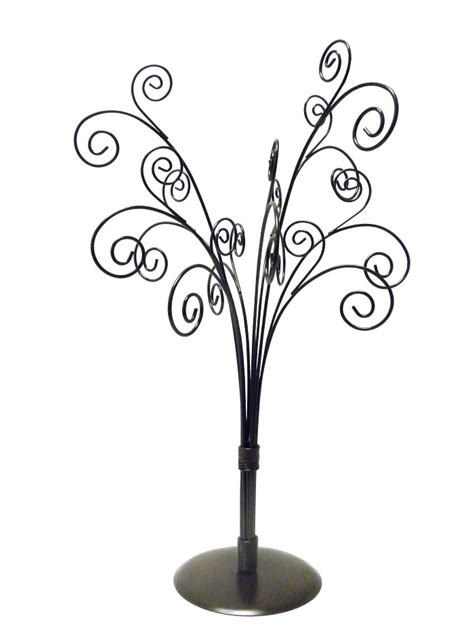 metal card holder tree tabletop metal tree ornament card holder display stand ebay