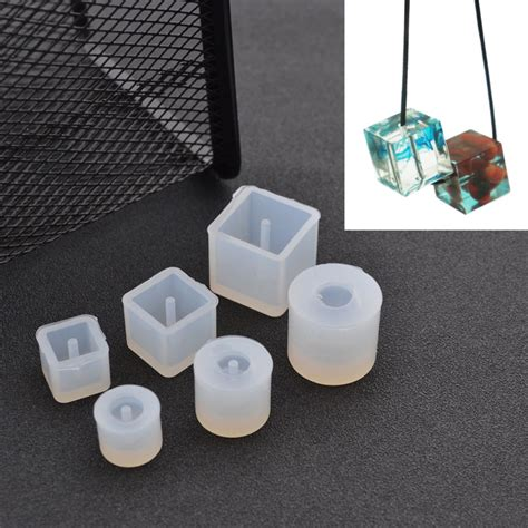 how to make silicone jewelry diy silicone mold transparent necklace pendant with