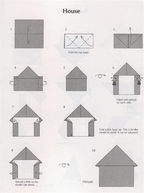 how to make origami house 3d origami house house
