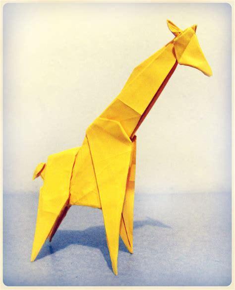 how to make origami giraffe origami giraffe 2 by alejandro delafuente on deviantart