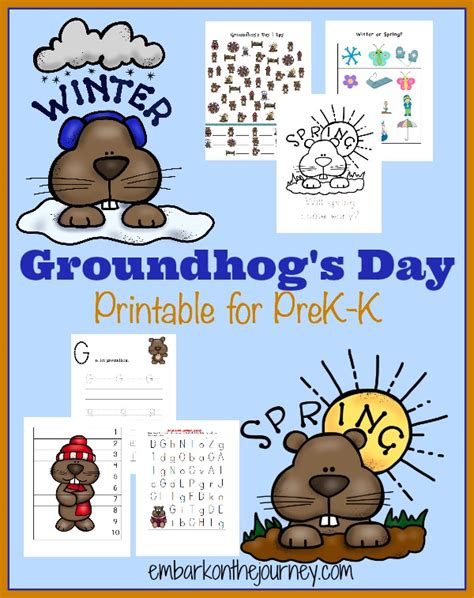 groundhog day activities free groundhog s day printable pack the multi taskin