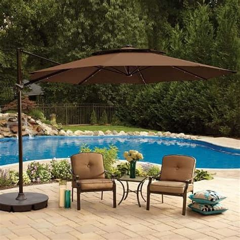 large cantilever patio umbrella 35 most attractive and cozy sunshades for patio ideas