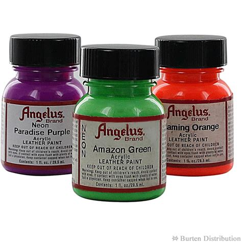 angelus paint neon angelus acrylic paints neon 1oz great pair store