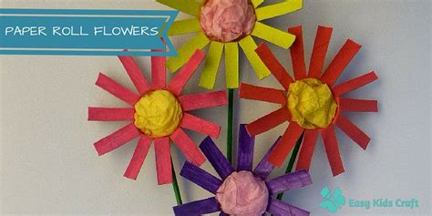 toilet paper roll flowers craft how to make toilet paper roll flowers