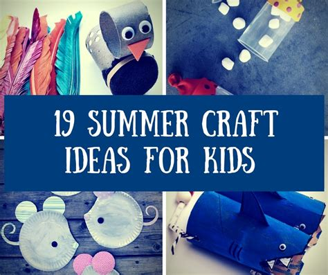 easy summer crafts for to make 19 easy to make summer crafts for homelovr