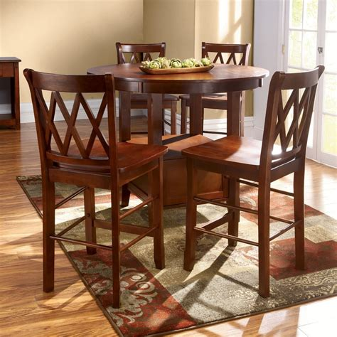 high top dining table and chairs high top kitchen table set furniture