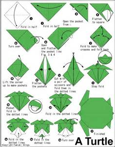 origami sea origami turtle crafts are my