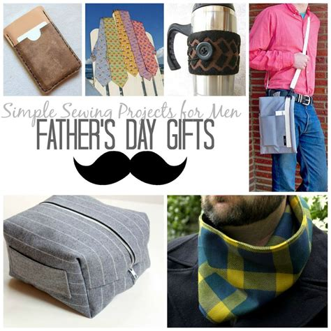 craft projects for guys 21 simple sewing projects for s day gifts