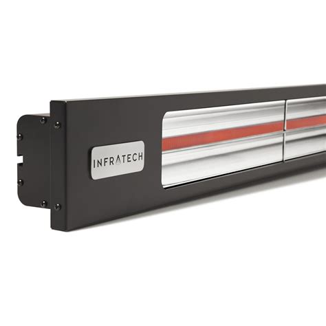 infratech electric patio heaters infratech slimline series 63 1 2 inch 3000w single element